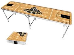 Cameron University Aggies Basketball Court Portable Folding Table