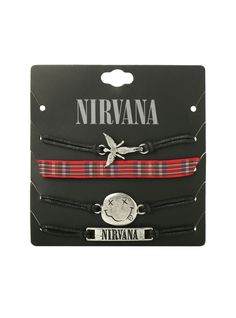 Nirvana bracelet 4 pack. So need this.