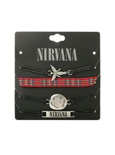 Nirvana bracelet 4 pack.  So need this.