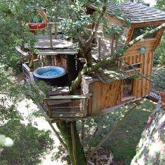 La Cabane perchée Fuscia Tarnos #treehouseclub