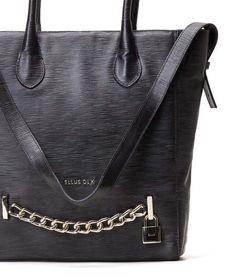 Ellus - Bolsa shopping bag cadeado