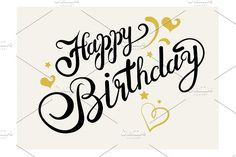 Looking for for ideas for happy birthday for him?Browse around this website for unique birthday ideas.May the this special day bring you fun. Happy Birthday Hand Lettering, Happy Birthday Calligraphy, Happy Birthday Drawings, Happy Birthday For Him, Happy Birthday Images, Happy Birthday Cards, Friend Birthday, Birthday Wishes, Birthday Text