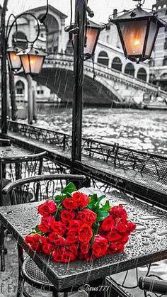 Wallpaper #Venecia #rain