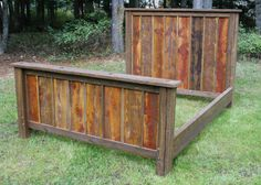 Hey, I found this really awesome Etsy listing at http://www.etsy.com/listing/163986823/reclaimed-rustic-bed