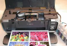Review of the #CanonPixma #ip4000 and #ip4000R Printers  Who would not want his or her 4 x 6 color photo be printed within 36 seconds? The Canon Pixma iP4000 can do the job together with a whole lot of other capabilities. It also has impressive print speed in printing color documents at 17 pages per minute.
