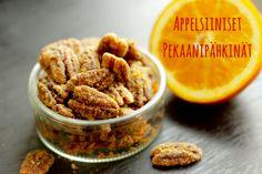 Appelsiiniset pekaanipähkinät