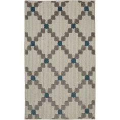 Better Homes and Gardens Dotted Diamonds Accent Rug, Blue