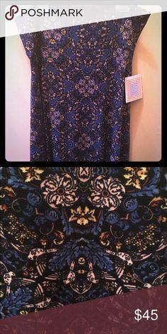 Gorgeous LuLaRoe Azure Skirt XL Gorgeous print Azure Skirt!  So soft and comfy! LuLaRoe Skirts A-Line or Full