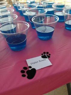 Water Bowls: Paw Patrol birthday   Blue jello by minerva
