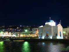 You want to experience Mykonos by night at least once!..