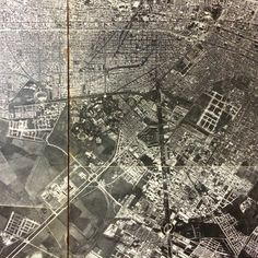Bogota (Colombia) - old aerial photography of Bogota