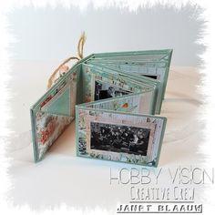 Made by Janet: Geschreven uitleg met foto`s Live avondje met mini albumpje Scrapbook Travel Album, Mini Scrapbook Albums, Scrapbook Cards, Mini Albums, Small Photo Albums, Mini Photo Books, Mini Books, Mini Album Tutorial, Interactive Cards