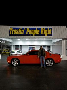Congratulations Dolton Cantrell on the purchase of your 2008 Dodge Challenger. We appreciate your business.