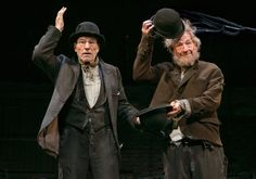 I always get these two actors confused... love seeing them in the same play together! Waiting for Godot