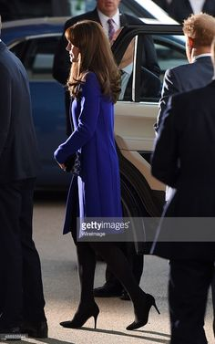 Catherine, Duchess of Cambridge attends the Rugby World Cup 2015 Opening Ceremony at Twickenham Stadium on September 18, 2015 in London, England. (Photo by Karwai Tang/WireImage)