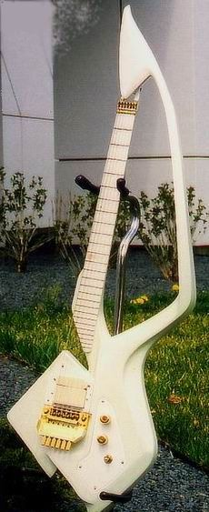 Classic Prince | 1988 Lovesexy Prince's Model C Guitar - Made it's debut in the Lovesexy era and used also in The Nude Tour of 1990.