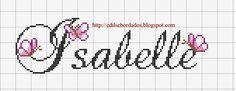 Nome Isabelle Borboletas