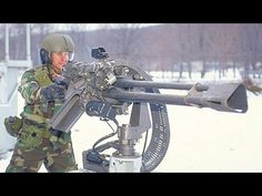 INSANE US MILITARY .50 CAL ELECTRICITY DRIVEN GATLING GUN FIRES 2000 ROUNDS IN 1 MINUTE | Red Rock Tribune