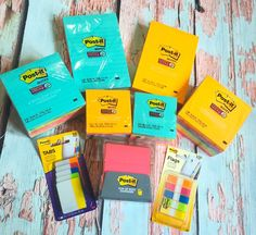 Head Back To School With Better Studying Habits and The Post-it® Brand #MakeItStick   Lady and the Blog
