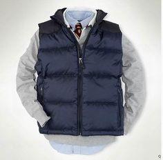 2015 Polo DownOutwear Men Vest M-XXL#215 $165.0. Save: 93% off. Model: QIQI20141107-2238