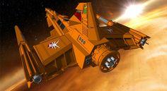 Draconian Marauder 2 (Buck Rogers) by JayThurman.deviantart.com on @deviantART