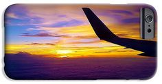 #Sunrise #IPhone #6s #Case featuring the photograph #Sunrise Above The #Clouds by Judi Saunders