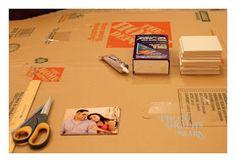 My Journey of Doing: DIY Gift Idea - Photo Coasters!!