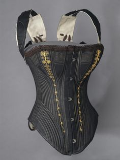 Corset 1890s The Philadelphia Museum of Art