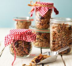 Surfer's Granola | Recipe | Granola, Sunflower Seeds and Flaxseed