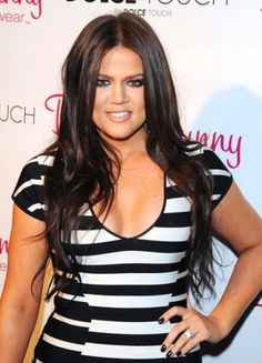 "Kris Jenner: Khloe Kardashian Needs To ""Step It Up"" and Get Pregnant! Khloe Kardashian Cabello, Kardashian Style, Middle Part Hairstyles, Hair Heaven, Celebrity Moms, Beauty Junkie, Kris Jenner, Poses, Celebs"