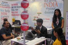 Indian Property Show Hong Kong 2014 Square Yards, yet again concluded a highly successful participation in Sumansa Exhibitions' Indian Property Show Hong Kong 2014 edition.