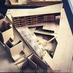 An Architecture Model is one way of presenting a version of your architectural design, interior design, or urban design project. Geometry Architecture, Architecture Student, Architecture Drawings, Concept Architecture, Interior Architecture, Interior Design, Architecture Model Making, 3d Modelle, Arch Model