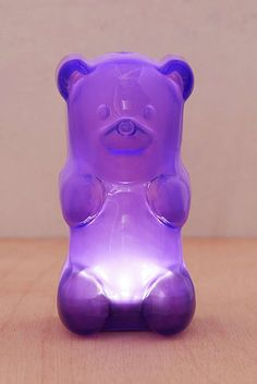 A GIANT gummy bear to light up a dark room.