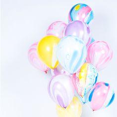 Marble Balloons // #Luftballons marmoriert - Ballons mit Marmor Effekt // Jetzt bei #Minidrops