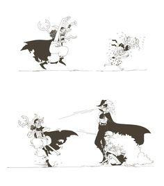 Usopp, Perona, Sugar, Mihawk, Doflamingo - One Piece
