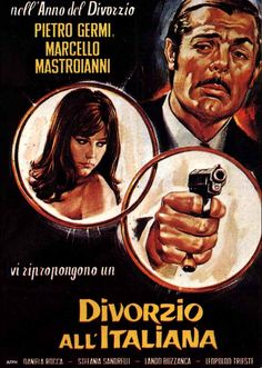 Divorzio all'Italiana 1961 di Pietro Germi con Marcello Mastroianni, Daniela Rocca e Stefania Sandrelli