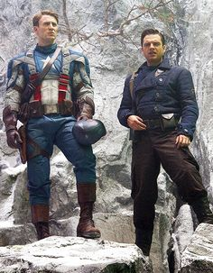 Steve Rogers and Bucky Barnes for HUGO Boss Winter Collection, 2011