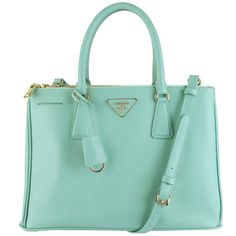 Prada BN1801 Tote Handbag- Tiffany Blue Anice