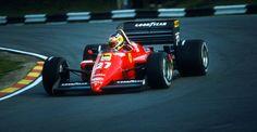 #Michele60   Stagione 1985, il sogno iridato di Alboreto sfuma sul più bello