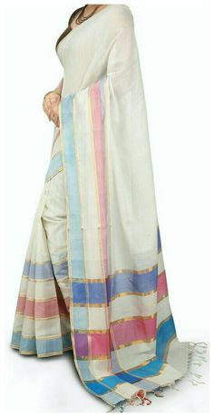 Check out this item in my Etsy shop https://www.etsy.com/in-en/listing/461537132/white-mangalagiri-handloom-cotton-saree