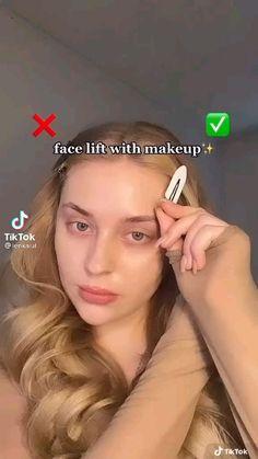 Cute Makeup Looks, Makeup Looks Tutorial, Makeup Eye Looks, Creative Makeup Looks, Natural Makeup Looks, Natural Makeup Look Tutorial, How To Face Makeup, Natural Makeup Tutorials, Oval Face Makeup