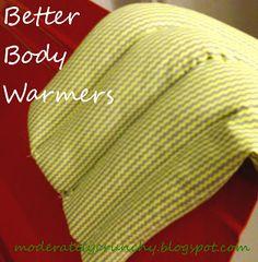 rice body warmers- homemade Christmas gift idea