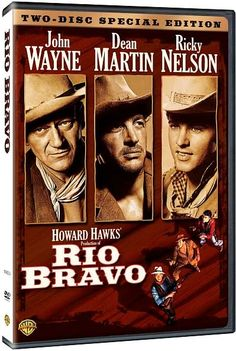 Rio Bravo - Starring John Wayne, Dean Martin, Ricky Nelson, and Angie Dickinson. Also my favorite john Wayne movie Ricky Nelson, Old Movies, Great Movies, Movies Free, Vintage Movies, Bravo Movie, Howard Hawks, John Wayne Movies, Dean Martin
