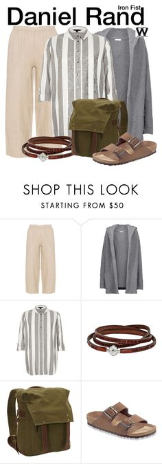 """""""Iron Fist"""" by wearwhatyouwatch ❤ liked on Polyvore featuring Chinti and Parker, River Island, Vagabond Traveler, Birkenstock, television and wearwhatyouwatch"""