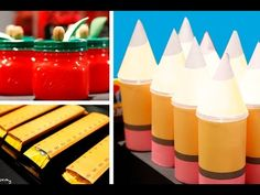 Back To School Cupcakes, Candy Bars, Push Pops & DIY | Sweet Styling wit...