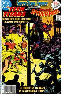 Super-Team Family: The Lost Issues!: The Teen Titans and Spider-Man