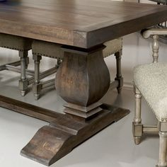 Andrews Double Pedestal Dining Table