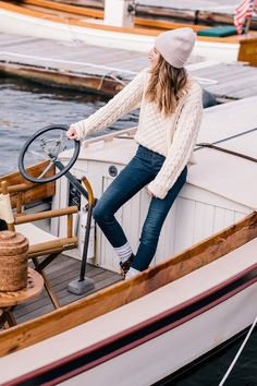Duck boots are the perfect boot for fall in New England | Jess Ann Kirby