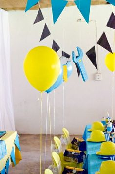 tool theme Birthday Party Ideas   Photo 2 of 43   Catch My Party