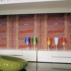 Papel pintado Rajasthan Foulards de Élitis.